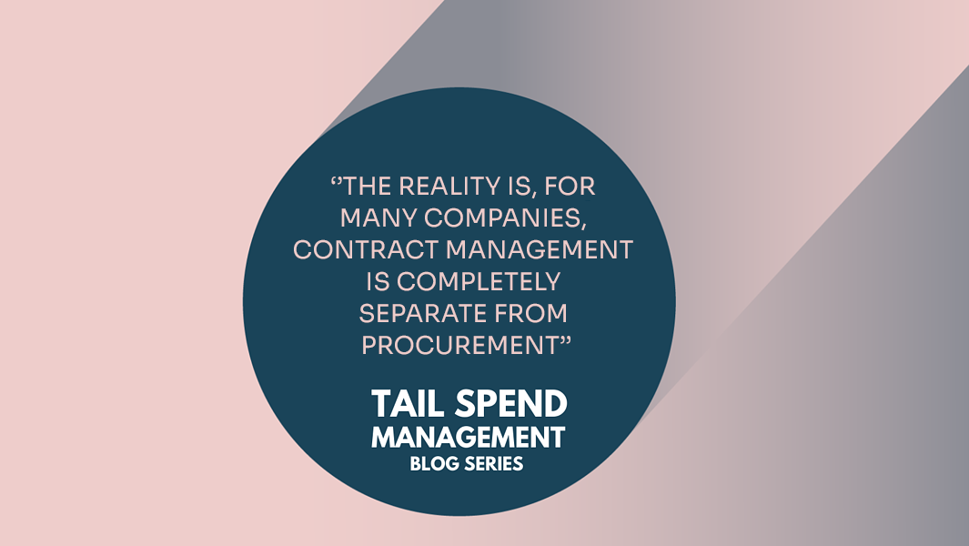 Contract management importance
